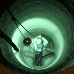 Spraying the inside of a pipe with a Polyurea Coating: get a quote on yours