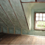an attic services done by AAA Urethane